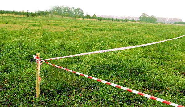 Вынос границ в натуру земельного участка